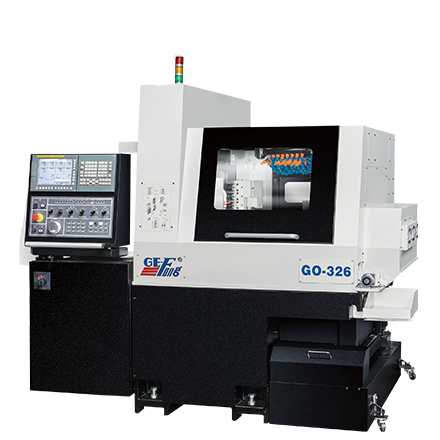 CNC Swiss Type Automatic Lathe | 6 Axes Opposed Gang Tool